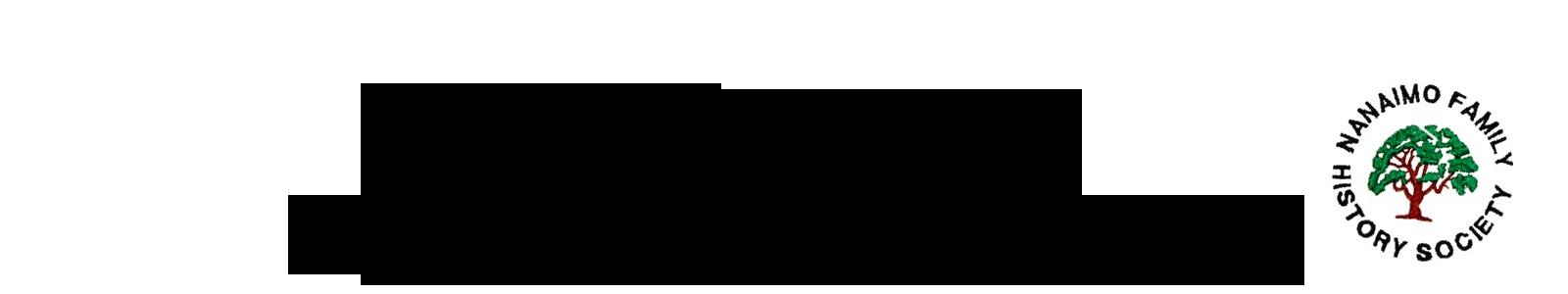 Nanaimo Family History Society Logo